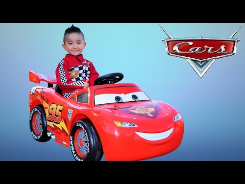 Thumbnail: Unboxing Disney Cars Lightning McQueen Battery-Powered Ride On Car 12V Test Drive Ckn Toys