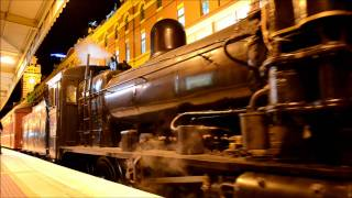 k153 k190 at flinders street the night train