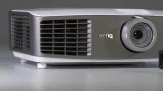 BenQ: мультимедиа-проектор W1500 для презентаций(BenQ W1500 -- это первый в мире проектор, который получает FullHD/3D-изображение по Wi-Fi-сети. И хотя он предназначен..., 2014-05-18T13:55:12.000Z)