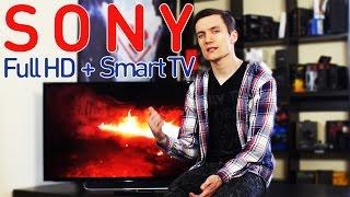"Обзор 40"" телевизора с Full HD и SmartTV - Sony KDL40W705CBR"