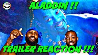 Disney's Aladdin Official Trailer - In Theaters May 24! (REACTION)