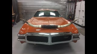 1969 Olds Toronado Texas tribute tailgating rod for sale