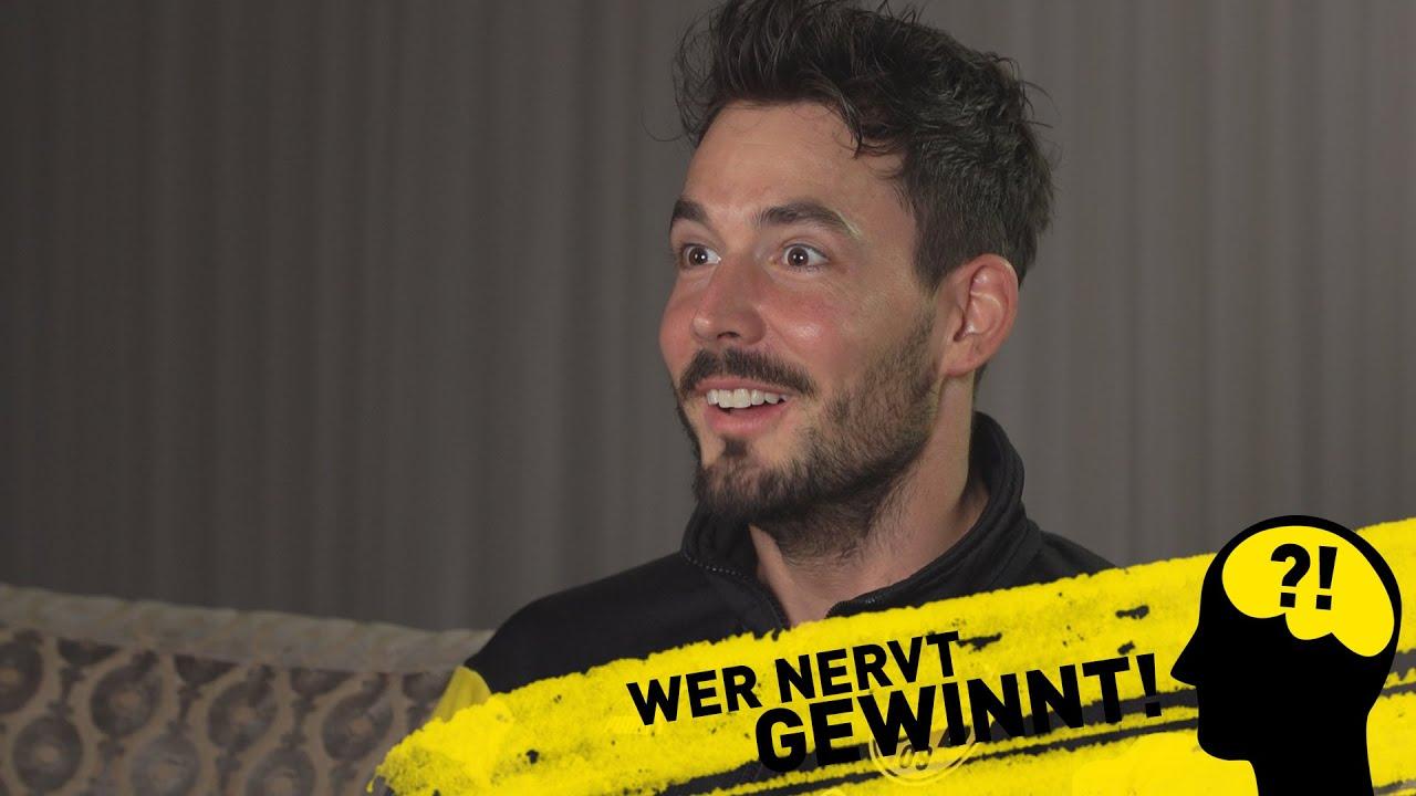 Wer nervt, gewinnt! | BVB-Challenge mit Roman Bürki & Marwin Hitz