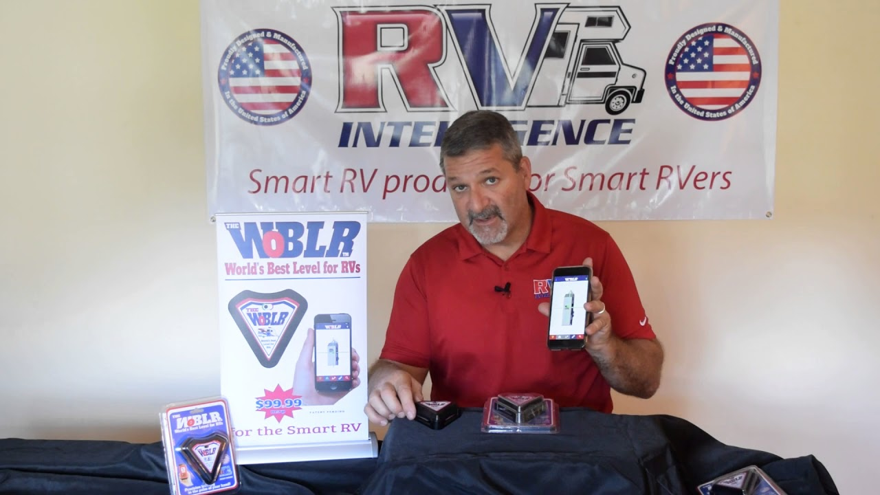 WoBLR - Worlds Best Level for RVs / Motorhome leveling
