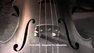 3 hours of relaxing cello.  Binaural deep sleep.  432 hz meditation