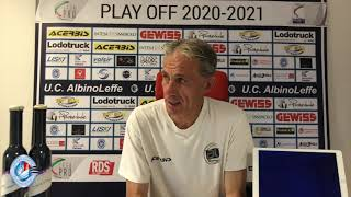 Il Post Match | Mister Zaffaroni dopo AlbinoLeffe - Alessandria 1-2