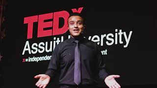 When Poetry touches your thoughts  | Mahmoud Saad | TEDxAssuitUniversity