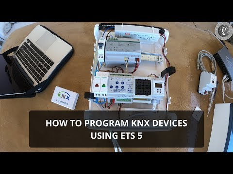 How to program KNX Devices - KNX Programming Tutorial