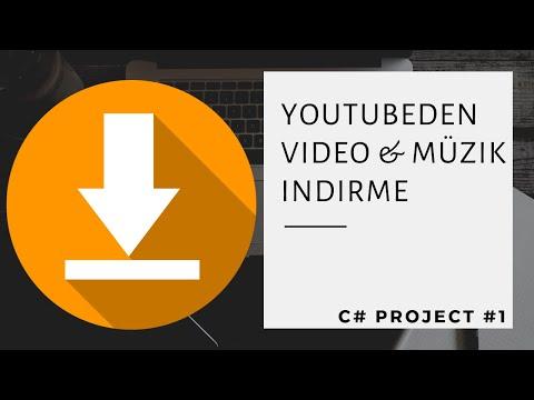 C# Youtubeden Video veya Müzik İndirme Programı