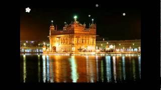 Kaisi Aarti Hoye(Gagan Main Thaal) Sikh Prayer.flv