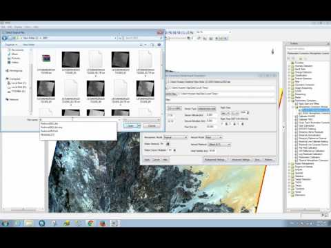 ENVI 5.1 Radiometric Calibration