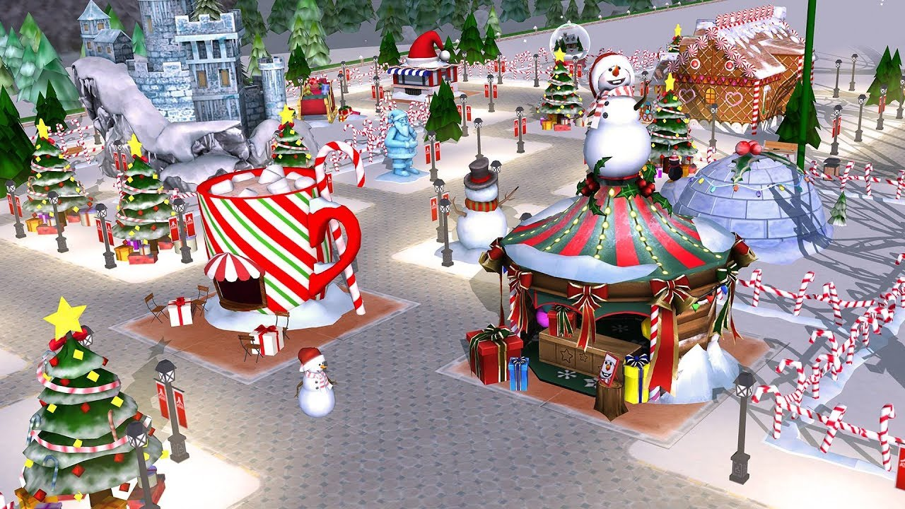 Rollercoaster Tycoon Touch | CHRISTMAS UPDATE | CARD TRADING FAIR | CARD  SHOPPING MALL
