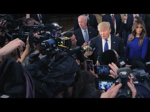 Trump's jabs at the press: A compilation
