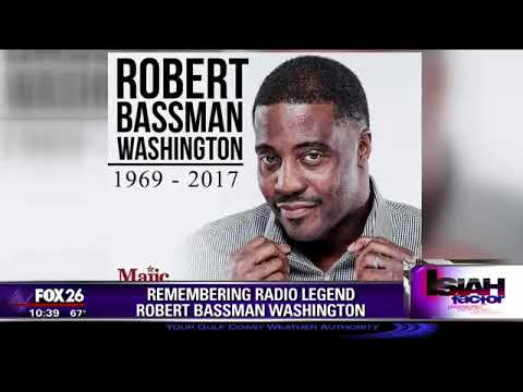 Remembering radio legend Robert Bassman Washington!