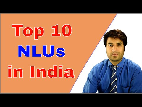 Top 10 National Law Universities(NLUs) & Law Colleges in India.