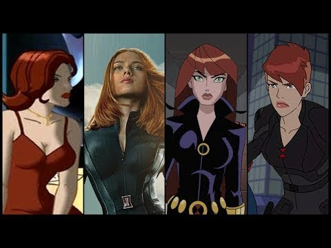Black Widow Evolution In Movies & Cartoons (2018)