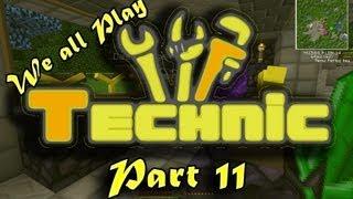 Technic #11 - Mystcraft Part 4 - Portals and Link Modifier