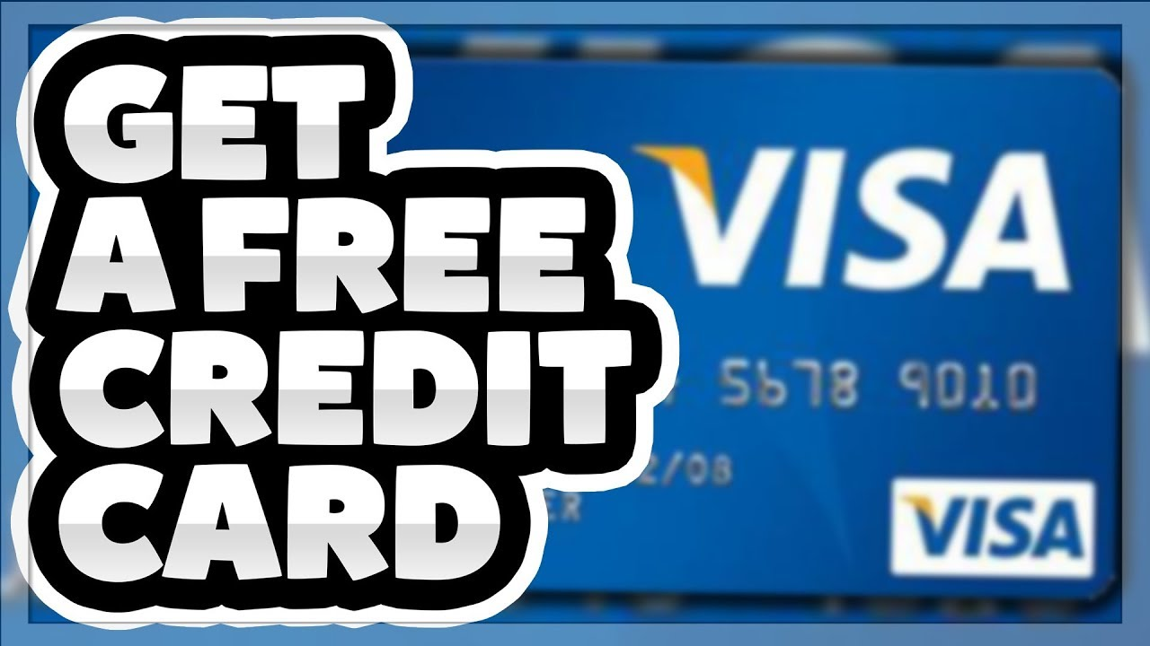 How to create a online credit card
