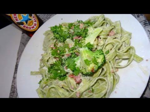 pâtes-au-fromage-bleu,-lardon-fumé-&-brocoli-/-pâtes-crémeuses-bleu,-bacon-&-broccoli---recette-#52