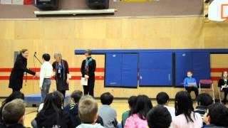 Coquitlam City - Elementary speech ceremony (Bramblewood Gr.5 Charlie Park)