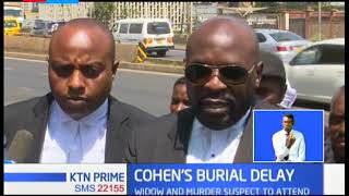 Cohen's burial delayed after lack of quorum by Jewish leaders