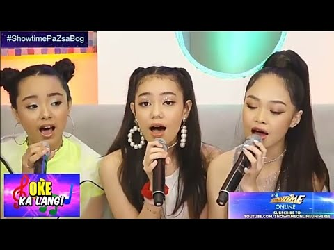ASK Sings 'Photograph' (ed Sheeran) On Showtime Online | AC, Sheena, Krystal