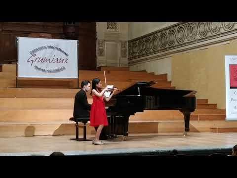 Nguyen Nguyen Le (10 Y.o.) - 1st Prize Grumiaux Competition 2019, Laureates Concert