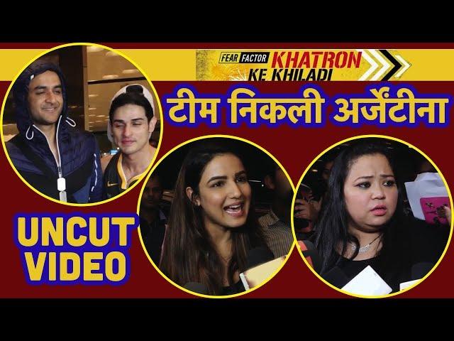 Khatron Ke Khiladi 9 में Vikas Gupta, Bharti Singh, Zain Imam, Avika Gor, Airport पर हुए SPOT