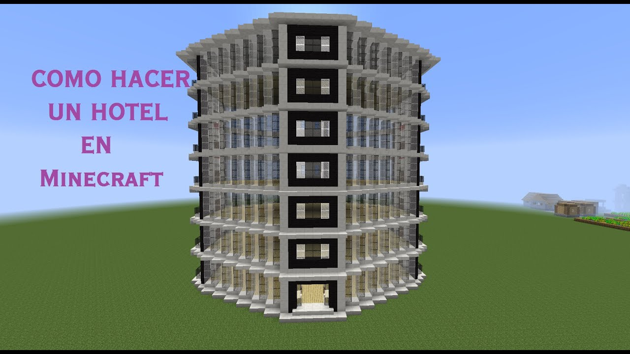 Minecraft Hotel Blueprints