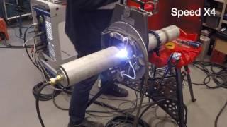Orbital TIG welding test: 88.9 x 3.05 mm - 316L
