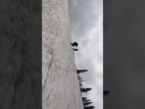 Sliding on Snow ....  Gulmarg Srinagar