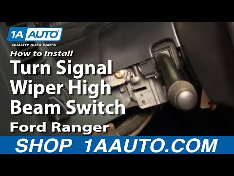 How to Replace Combination Switch 95-02 Ford Ranger