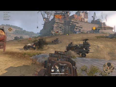 Crossout Defence HARD RAIDS with Machine gun, Unguided rocket and Drone