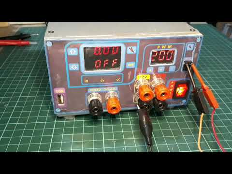 TEST DP30V5A-L Programmable Power Supply & PWM Module