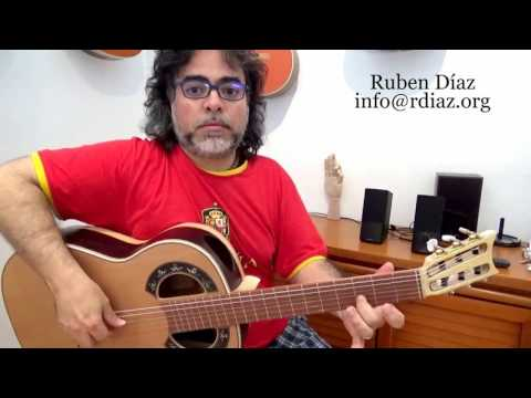 3 Ingredients of a Solo *Choosing notes, Contour and Rhythm /Contemporary flamenco lesson Ruben Diaz