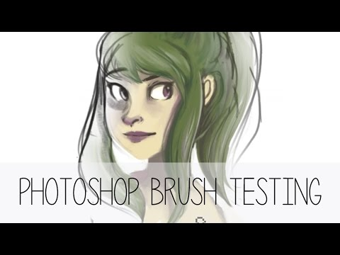 Kyle T Webster Brush Test (ノ・ェ・)ノ - YouTube