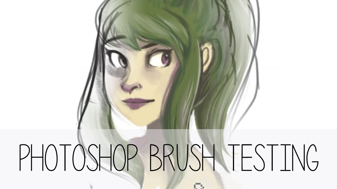 Kyle T Webster Brush Test (ノ・ェ・)ノ