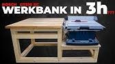 So Baust Du Eine Stabile Werkbank Fur Die Werkstatt 1 Youtube