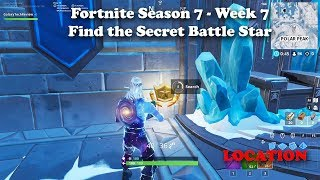 Secret Battle Star Location - Fortnite Season 7 Week 7