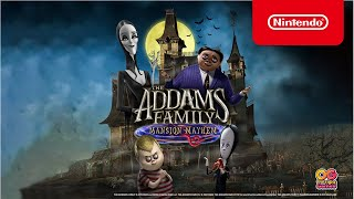 The Addams Family: Mansion Mayhem – Launch Trailer – Nintendo Switch