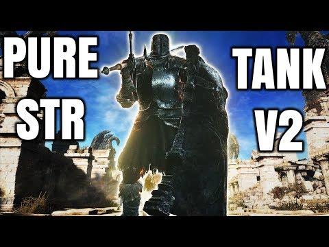 Dark Souls 3 - Pure Strength Tank - Remastered Build V2