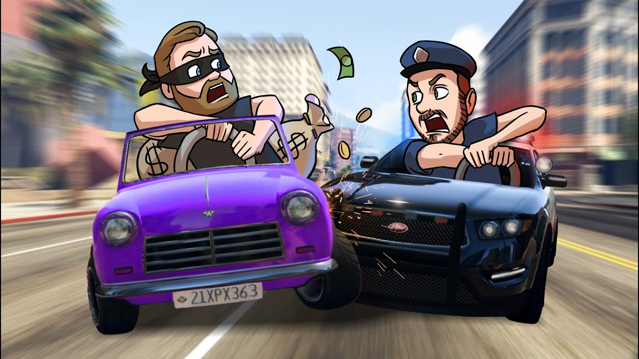 Escape The Cops Challenge! | GTA5