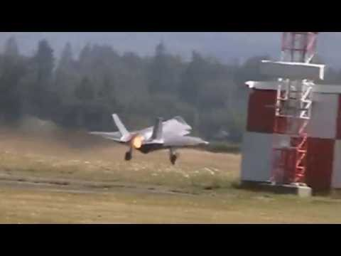 F-35A's  Departures from Abbotsford Airshow 2016