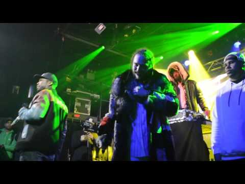 Post Malone Brings 50 Cent Out In NY For 'Welcome To The Zoo' Tour!