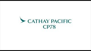 Cathay Pacific CP78 Graduation Video