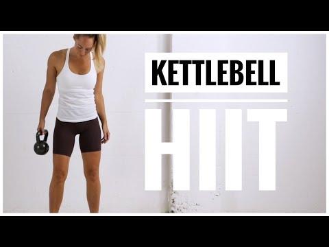 KETTLEBELL HIIT Workout // Full Body HIIT Circuit