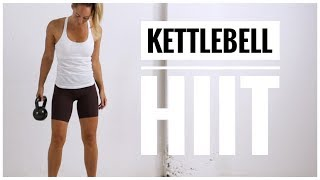 KETTLEBELL HIIT Workout // Full Body HIIT Circuit