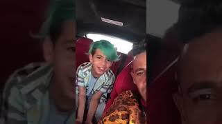 شاهد.. اللاعب إلتون خوزيه وابنه يحتفلان باليوم الوطني السعودي