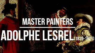Adolphe Alexandre Lesrel (1839-1921) A collection of paintings 4K Ultra HD