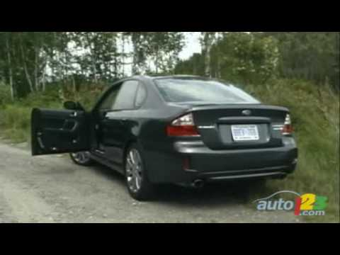2008 Subaru Legacy 25GT Review by Auto123com  YouTube